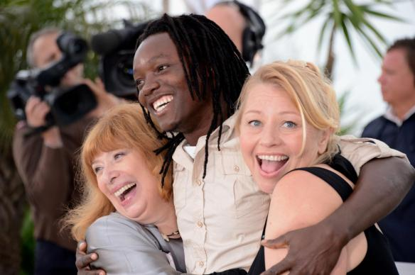 inge-maux,-margarete-tiesel-and-peter-kazungu-at-event-of-paradise--love-(2012)-large-picture