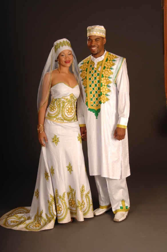 afrocentric wedding gowns