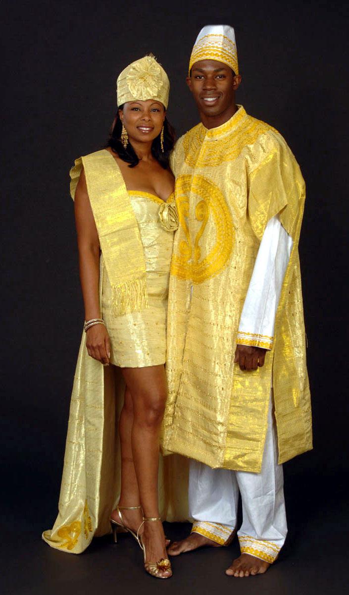 African wedding attire fashion 37 Gorgeous African Wedding Dresses - m