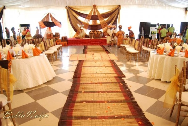Wedding Decor Ideas Traditional : Timi awoyinka deji ogunnowo traditional wedding bn