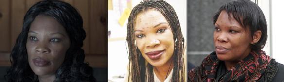 Beatrice Munyenyezi bleaching her skin