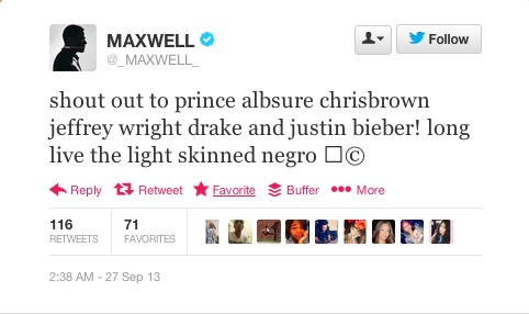 Maxwell, white power!
