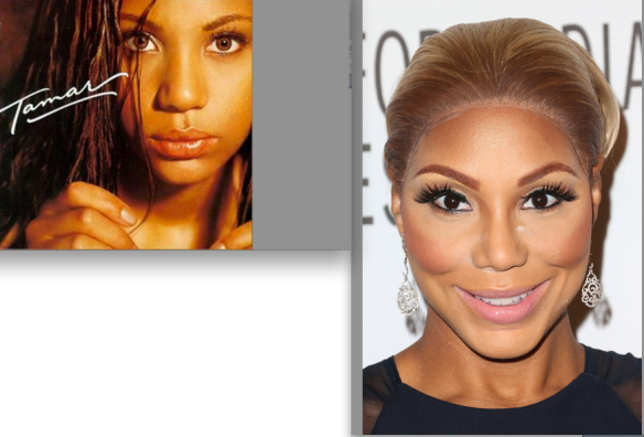 Tamar Broxton before and after nose operation