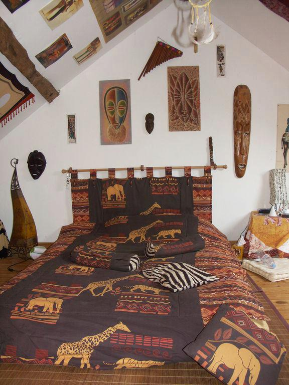 Style Ethnique Deco - Chambre Style Africain - Wiblia.com