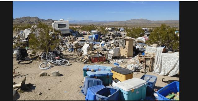 Poverty in California, USA